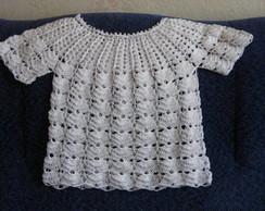 Blusa infantil croch�