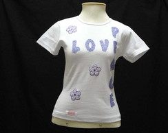 Camiseta - Baby Look - Love And Peace