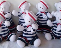 Ursinhos Marinheiros  Tam. P 35 cm