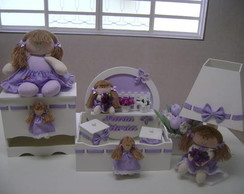 kit higiene boneca