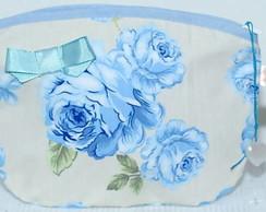 N�cessaire floral azul