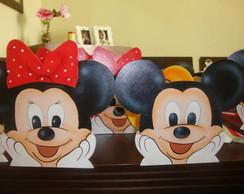 Porta Cd Tema Mickey e Minie