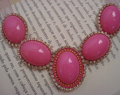 Maxi Colar Pink