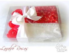Lavabo Rosas Vermelhas - sob encomenda