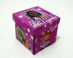 Lembrancinha Cubo Dobr�vel - Moranguinho