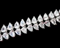 Pulseira Cristal - Linha Luxo
