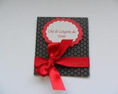 Convite Ch� De Lingerie