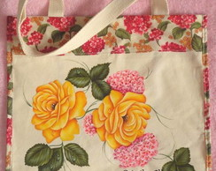 "Eco Bag Sacola ""Flores """