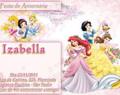 Convite Princesas