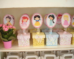 Lembrancinha Caixa Princesas