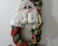 Guirlanda tran�ada Papai Noel
