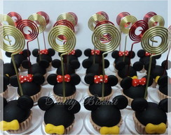 Cupcake Minnie Mickey