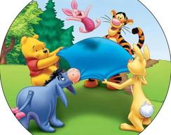 Adesivo para Garrafinha Ursinho Pooh