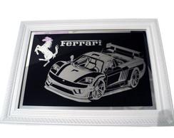 Quadro da Ferrari em Espelho