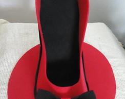 Sapato Porta Celular e Recados em E.V.A