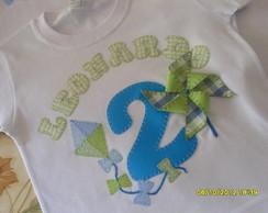 Camiseta Personalizada Anivers�rio Pipas
