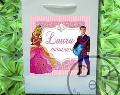 Sacola Barbie Castelo de Diamantes
