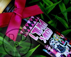 R�tulo Tubete Monster High