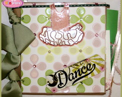 Mini �lbum Scrapbook - Ballet