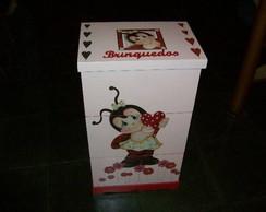 Caixas organizadoras Brinquedos