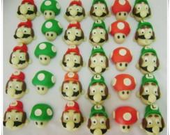 Docinhos Modelados Mario Bros