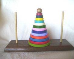 Torre de hanoi gigante