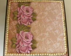 Caixa de MDF Flores