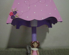 Lumin�ria Para Quarto De Beb� -bailarina