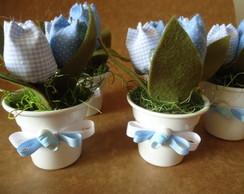 Lembrancinha Nascimento -Vasinho Tulipa
