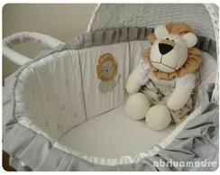 Mois�s para Beb� com Capota Grey Lion