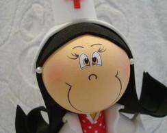 Caneta decorada Enfermeira
