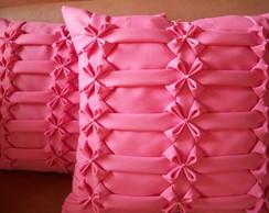 capa para almofada em capitone
