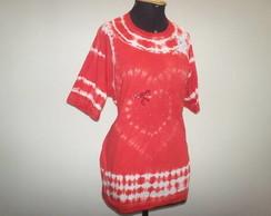 Camiseta Tie Dye cora��o