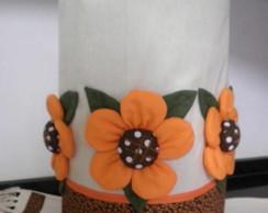 Capa gal�o de �gua flores