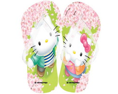 Chinelo Personalizado - Hello Kitty