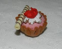 Cupcake em feltro