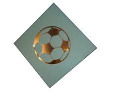 Bola de futebol em espelho