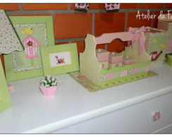 Kit Madeira Beb�- Baby's Garden 11 Pe�as