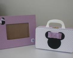 Kit Maleta Pequena Minnie Lil�s