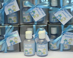 Kit sabonete e �lcool Gel 30 ml cada
