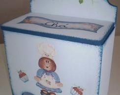 Caixa de Ch� Cozinheira