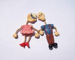 Vov� e Vov� de Geladeira (casal)