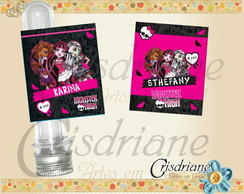 Etiquetas Monster HIgh