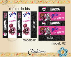 R�tulos Bis Monster High