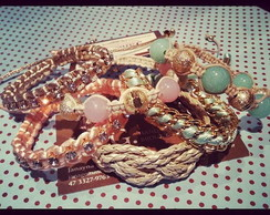 Kit Candy Colors(6 pulseiras)