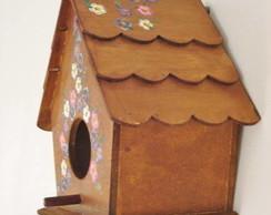casinha de passarinho r�stica
