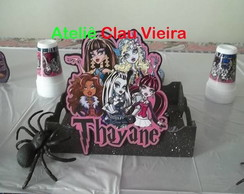 CENTRO DE MESA BANDEIJAS MONSTER HIGH
