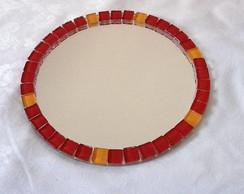 Espelho redondo Mosaico