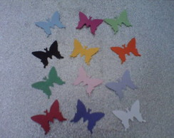 100 Micro borboletas scrapbook