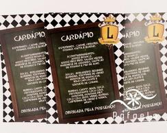 Card�pio 21x15